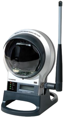 Picture of Linksys Security Indoor WVC200 Wireless-G PTZ Internet Video Camera - Audio