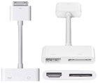 Picture of Apple Digital AV Adapter Αντάπτορας Dock 30-pin male/ HDMI-Dock 30-pin female MD098ZM/A