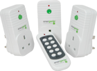 Picture of Energenie 3 Pack of Remote Controlled Sockets