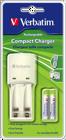 Picture of Verbatim φορτιστής μπαταριών battery charger τύπου LR3 (AAA) & LR6 (AA) VERBATIM 49944