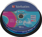 Picture of Verbatim 43413 CD-R 8cm Colour 10x