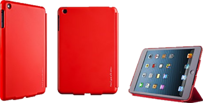 Picture of Θηκη Totu iPad Mini Perfect Buddy Red