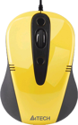 Picture of A4Tech N-370FX-1 Wired Mouse  Yellow