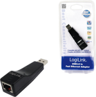 Picture of LOGILINK FAST ETHERNET USB 2.0 TO RJ45 ADAPTER UA0025C