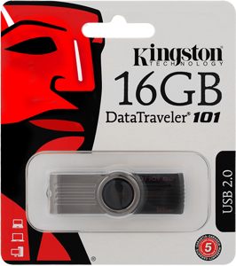 Picture of KINGSTON USB Memory Stick Data Traveler 101 G2 DT101G2/ 16GB