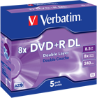Picture of Verbatim DVD+R Double Layer 5 pack 8.5GB