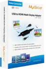 Picture of MyGica USB to HDMI Multi Display Adapter with Audio