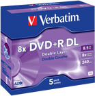 Picture of Verbatim 43541 DVD+R Double Layer