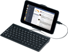 Picture of Genius LuxePad A110 Wired keyboard and Stand for Android Tablet PC