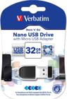 Picture of Verbatim 49822 Nano USB Drive 32GB