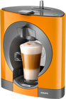 Picture of KRUPS Dolce Gusto Oblo KP110F40 Καφετιέρα Hot Drinks Machine - Black ●Δώρο 16 Κάψουλες Cappuccino●