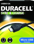 Picture of Duracell USB5023A Sync & Charge Cable (Micro USB) - Micro USB Devices