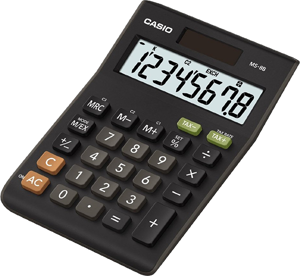 Picture of Casio Calculator MS-8B υπολογιστική μηχανή