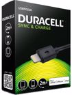 Picture of Duracell USB5022A Sync/Charge Cable Lightning for iPad,iPhone & iPod 2m