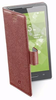 """Picture of CellularLine Θήκη BOOK UNI - SMARTPHONES UP TO 6.3""""  - Red"""