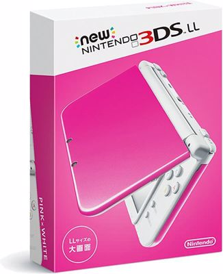 New Nintendo 3DS 4 GB Xl Pink Console