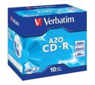 Verbatim CD-R 80 Audio 10 Pack J/Case (52x) 43327