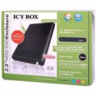 "ICY BOX 2.5"" HDD/SSD Enclosure with toolless HDD installation"