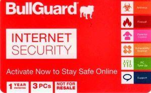 BULLGUARD Internet Security 2017 3 PC 1 YEAR ΗΛΕΚΤΡΟΝΙΚΗ ΑΔΕΙΑ