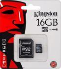 Kingston SDC10/16GB Κάρτα μνήμης microSDHC 16GB Class 10