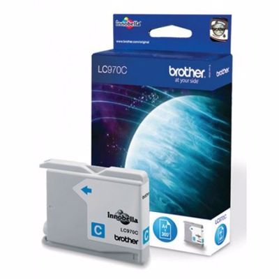 Brother LC970C - Print cartridge - Cyan - 300 pages