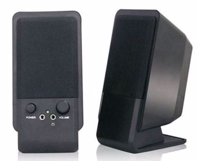 MediaRange Speaker Desktop Black MROS352