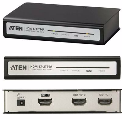 Aten Splitter Hdmi 2 Port VS182A