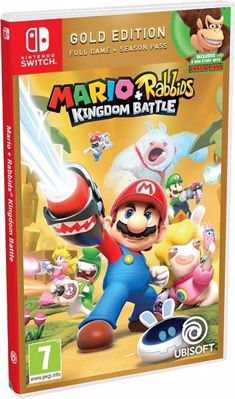 Mario & Rabbids Kingdom Battle Gold Edition ( NS )