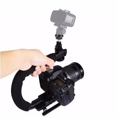 C-Shaped Video Handle DV Bracket Steadicam Stabilizer Kit