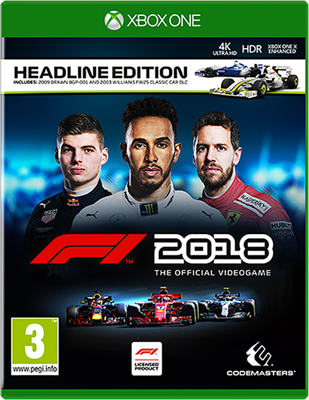 Picture of Formula 1 2018 Formula 1  2018 Headline Edition ( XB1 )