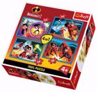 Trefl 4in1 Puzzle - Disney Pixar INCREDIBLES 2