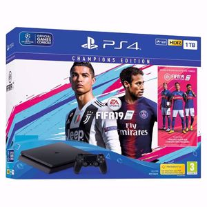 Sony Playstation Console 4 1 TB + FIFA 19 Champions Edition
