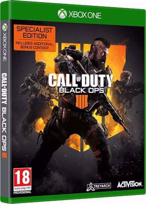 Call Of Duty Black Ops 4 - Specialist Edition - ( XB1 )