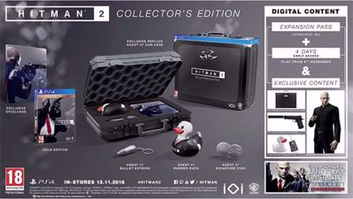 Hitman 2 Collector's Edition ( PS4 )