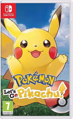 Pokemon Lets Go: Pikachu ( NS )