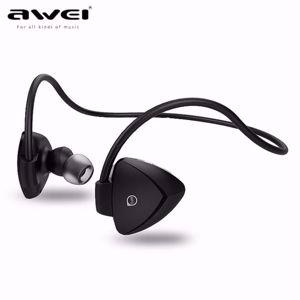 AWEI A840BL Wireless Sports Bluetooth 4.0 with Mic NFC - Black