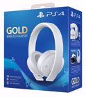 Sony Gold Wireless Headset White
