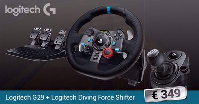 Logitech G29 & Driving Force Shifter