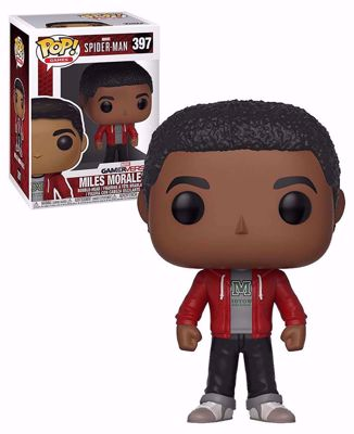 POP! Games Marvel: Spider-Man - Miles Morales #397 Vinyl Figure