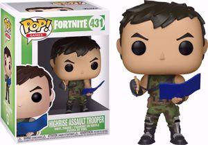 POP! Games: Fortnite - High Rise Assault Trooper #431