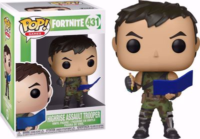 POP! Games: Fortnite - High Rise Assault Trooper #431
