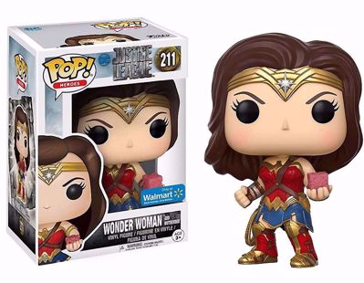 POP! Heroes: DC Justice League - Wonder Woman and Mother Box (Exclusive) #211