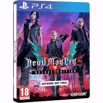 Devil May Cry 5 - Deluxe Steelbook Edition - ( PS4 )