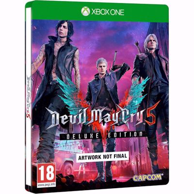 Devil May Cry 5 - Deluxe Steelbook Edition - ( XB1 )