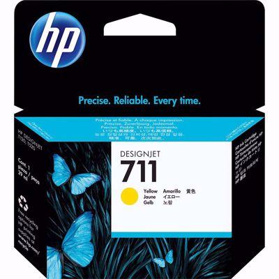 HP 711 Yellow - Δοχείο κίτρινης μελάνης HP 711 29 ml
