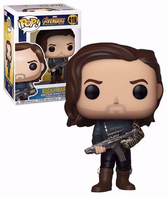 POP! Marvel: Infinity War - Bucky Barbes (with Weapon) #418