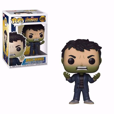 POP! Marvel: Infinity War - Bruce Banner (Hulk Head) #419