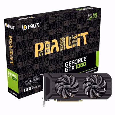 Palit Geforce GTX 1060 6GB Dual Fan κάρτα γραφικών