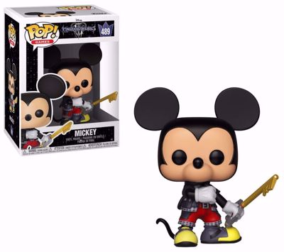 POP! Games - Kingdom Hearts 3: Mickey #489