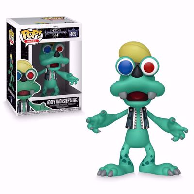 POP! Games - Kingdom Hearts 3: Goofy (Monsters Inc.) #410